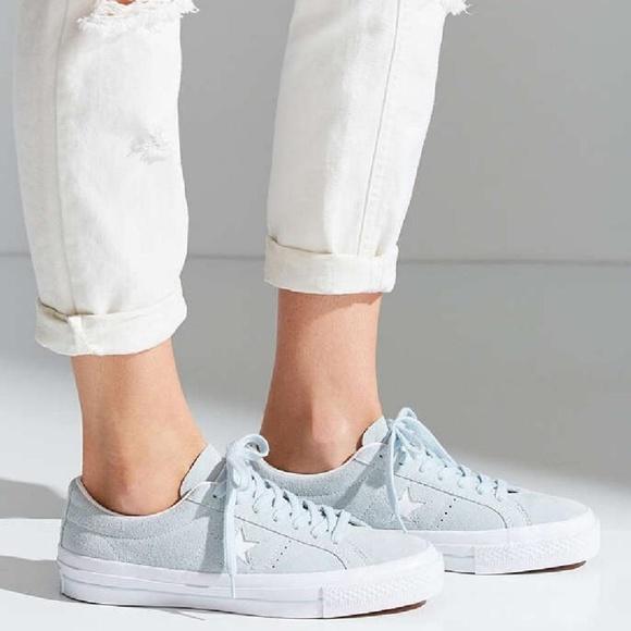 6fac6500ce1a Converse Shoes - Converse One Star Suede Sky Blue Sneaker